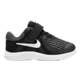 Nike Toddler Revolution 4 Shoes - Black/White