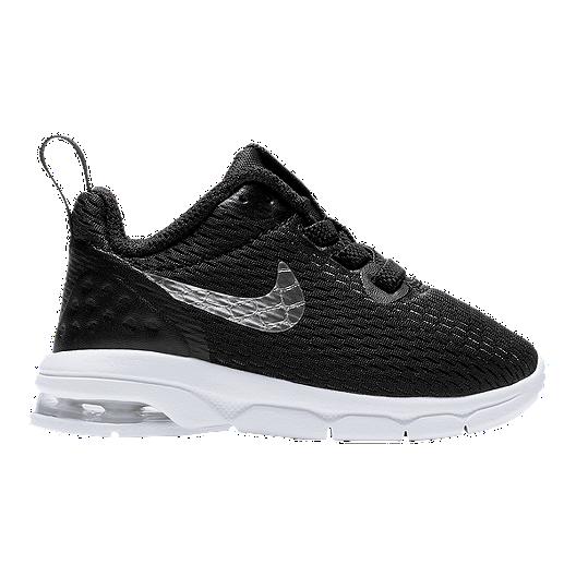 ecf4c79e46309 Nike Toddler Air Max Motion LW Shoes - Black/Silver | Sport Chek