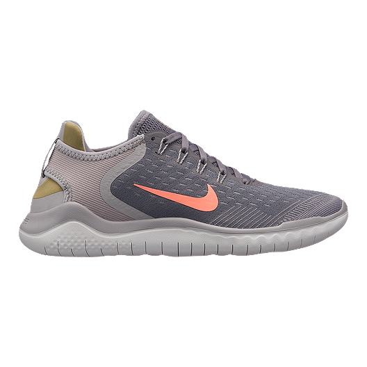 buy popular 24494 8e1d2 Nike Women's Free RN 2018 Running Shoes - Grey/Red | Sport Chek