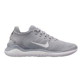 super popular b1ace 896cb Nike Women s Free RN 2018 Running Shoes - Grey White Volt