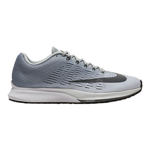 newest 2086a f7899 Nike Women's Air Zoom Elite 9 Running Shoes - White/Grey