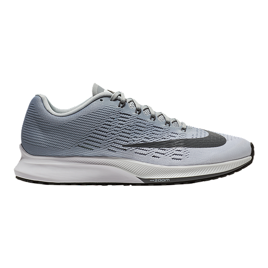 e888c4a95c738 Nike Women s Air Zoom Elite 9 Running Shoes - White Grey