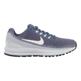4bad59a108222 Nike Women s Air Zoom Vomero 13 Running Shoes - Grey White