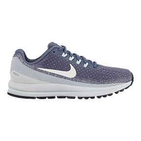 07562af280be Nike Women s Air Zoom Vomero 13 Running Shoes - Grey White
