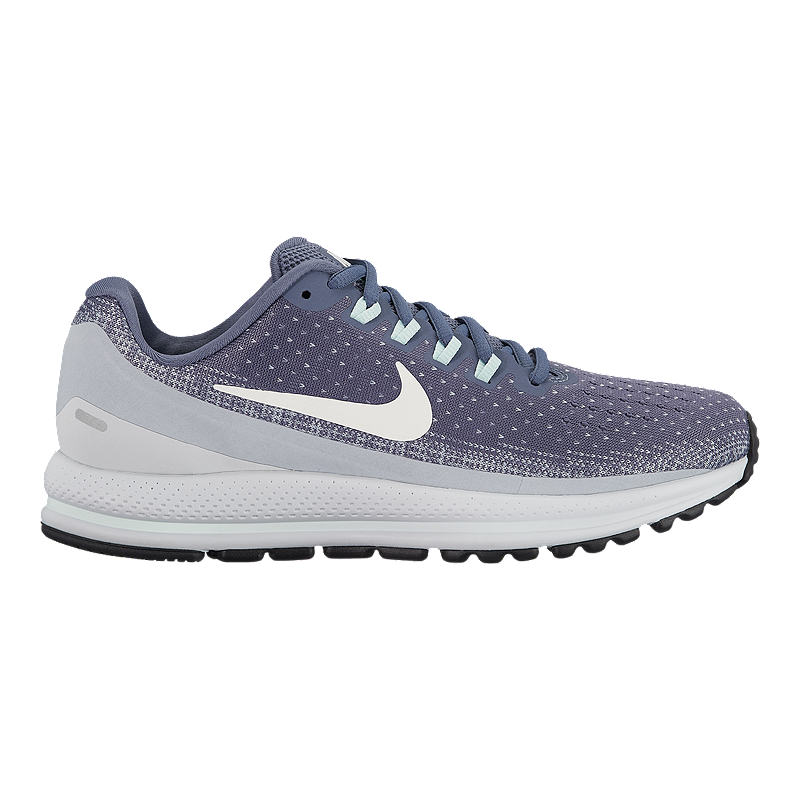 13365aa4d1207 Nike Women s Air Zoom Vomero 13 Running Shoes - Grey White