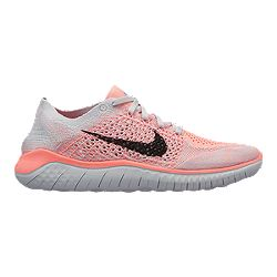 234e6f833206 image of Nike Women s Free RN Flyknit 2018 Running Shoes -  Red Black Platinum