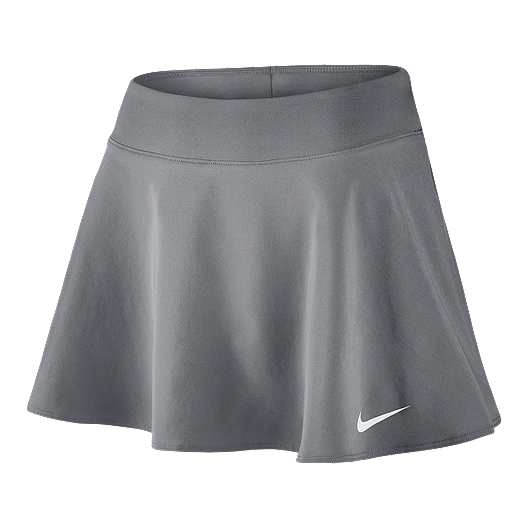 29e20d81310d Nike Women s Tennis Court Fix Pure Skirt - Grey
