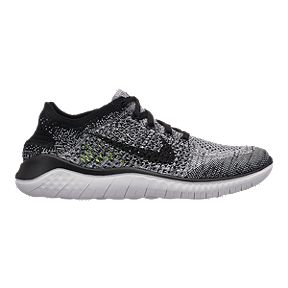 pretty nice a4712 b615e Nike Womens Free RN Flyknit 2018 Running Shoes - WhiteBlack