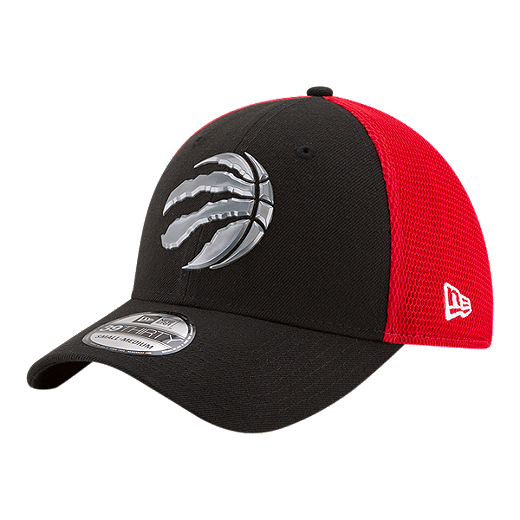purchase cheap 8b98a a8c25 Toronto Raptors New Era 39Thirty On Court Hat - BLACK