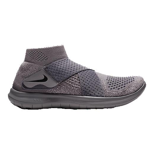 online retailer 3e8c5 a8cac Nike Women s Free RN Motion Flyknit 2017 Running Shoes - Grey Navy -  GUNSMOKE GREY