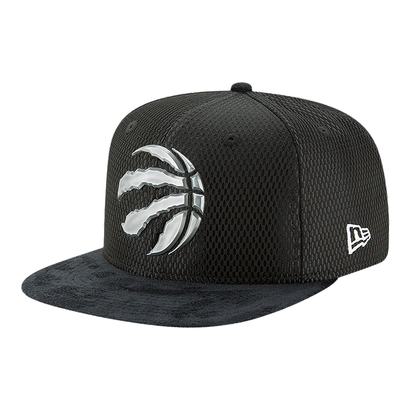 Toronto Raptors New Era 9Fifty On Court Team Hat  b984c8f976a