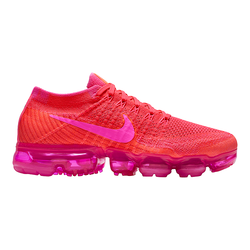 adb97fe655 Nike Women's Air VaporMax Flyknit Running Shoes - Pink/Purple/Black | Sport  Chek