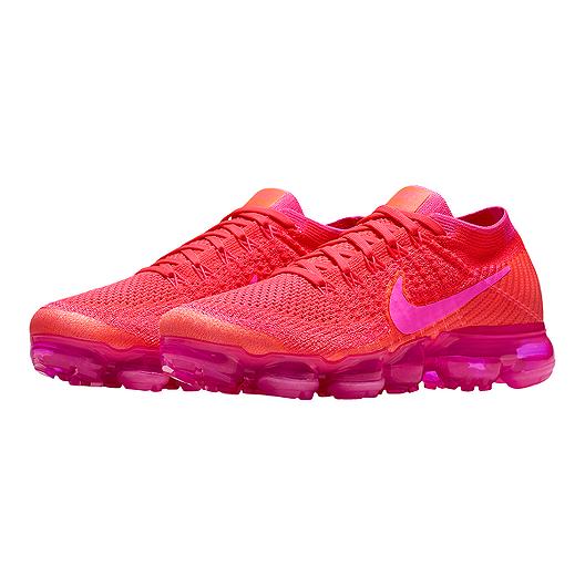arrives 0fd2f 0ebf3 Nike Women's Air VaporMax Flyknit Running Shoes - Pink ...