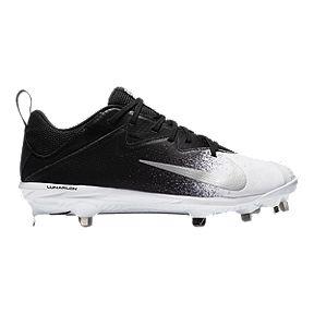 8a18914a0 Nike Men s Lunar Vapor UltraFly Pro Mid Baseball Cleats - Black White