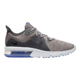 Nike Women's Air Max Sequent 3 Running Shoes - Grey/Black