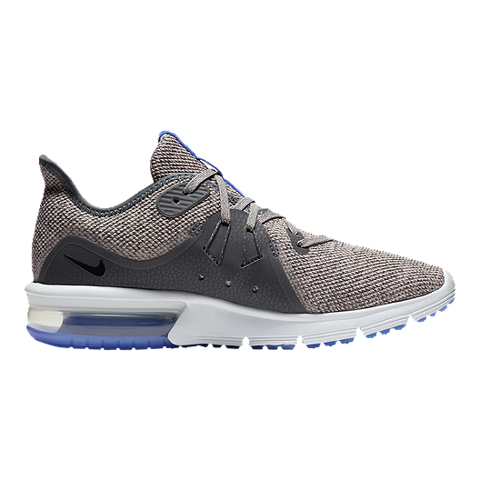 buy popular 4ffdc ede9d Nike Women s Air Max Sequent 3 Running Shoes - Grey Black
