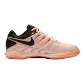 Nike Women's Air Zoom Vapor X Tennis Shoes - Pink/Black