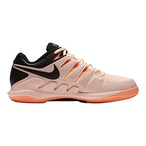 Nike Women's Air Zoom Vapor X Tennis Shoes - Pink/Black