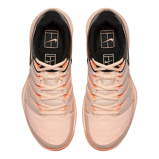 watch dc7ad 8f686 Nike Women's Air Zoom Vapor X Tennis Shoes - Pink/Black