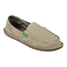 cbacc804b8e6af Sanuk Women s Donna Hemp Shoes - Natural