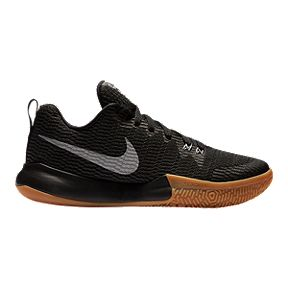 info for 366a3 a2355 Nike Women s Zoom Live II Basketball Shoes - Black Silver