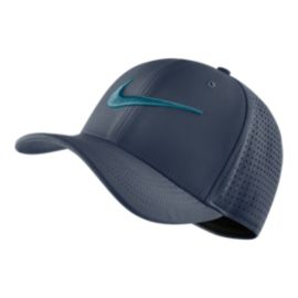 Nike Men's Train Vapor SwooshFlex Hat - Blue
