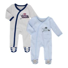 Montreal Canadiens Infant Sunday Best Coverall Set - 2-Piece