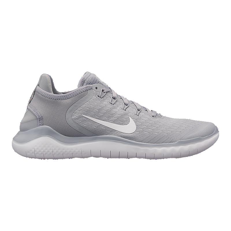 low priced 007ad 53133 Nike Men's Free RN 2018 Running Shoes - Grey/White