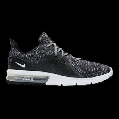 Nike Hombres Air Max Sequent 3 Zapatillas Zapatillas Zapatillas Negro  Blanco  Gris 9b8abd