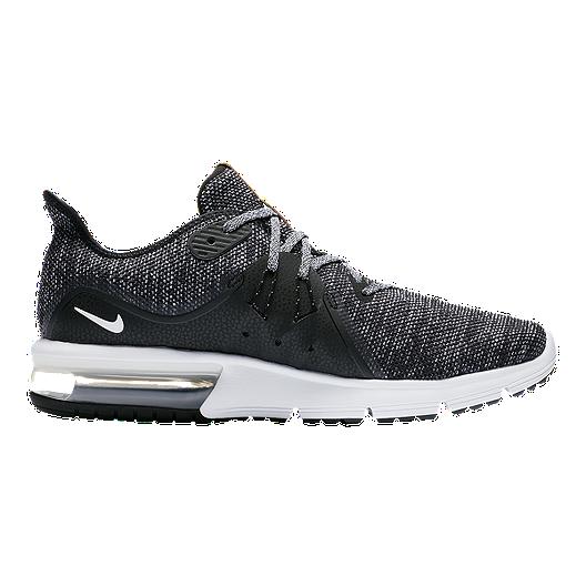 ce65e50123 Nike Men's Air Max Sequent 3 Running Shoes - Black/White/Grey. (0). View  Description
