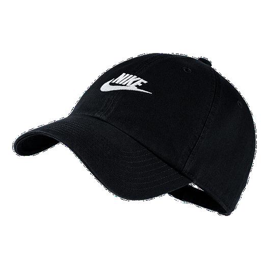 68eeb43bdf70fc Nike Sportswear Heritage86 Hat - Black