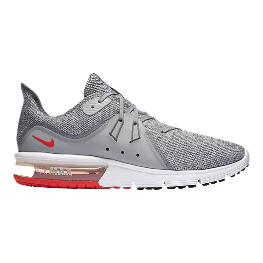 brand new f1115 3bd42 Nike Men s Air Max Sequent 3 Running Shoes - Grey Red   Sport Chek