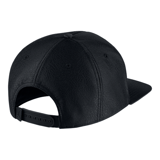 915631dcae8 Nike Jordan Jumpman Elephant Print Ingot Pro Hat - Black / Gold ...
