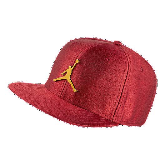 3c49c48767f447 Nike Jordan Jumpman Elephant Print Ingot Pro Hat - Red