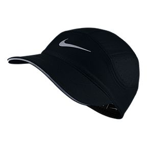Nike Women s AeroBill Running Hat - Black 4de15bec73