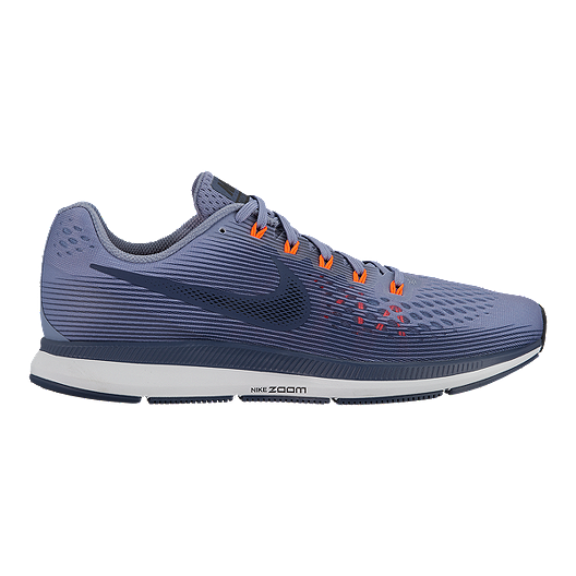 319693e628c6 Nike Men s Zoom Pegasus 34 Running Shoes - Dark Blue Orange