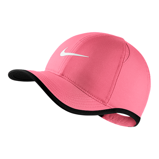 best service 5a7d7 2b0c0 Nike Kids  AeroBill Featherlight Hat - Coral
