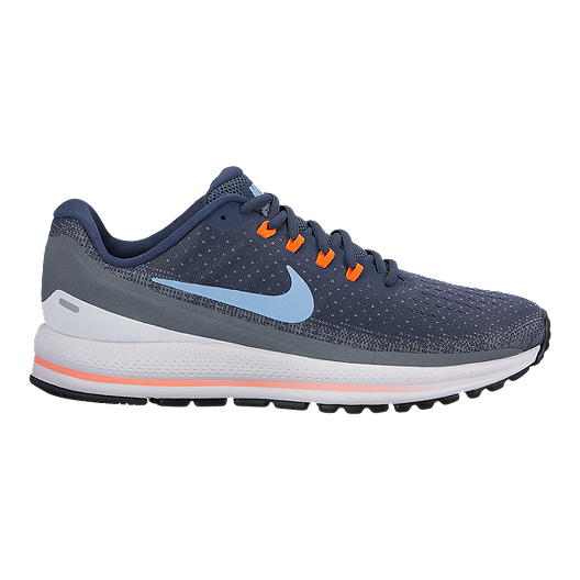 7a64bad6c4bf Nike Men s Zoom Vomero 13 Running Shoes - Blue Grey