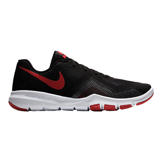 bfefe13c6874 Nike Men s Flex Control II Training Shoes - Black Red White