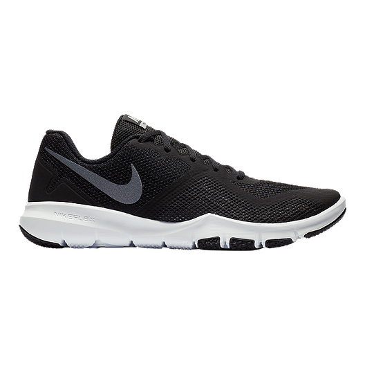 53a1f224734b5 Nike Men s Flex Control II Training Shoes - Black Grey