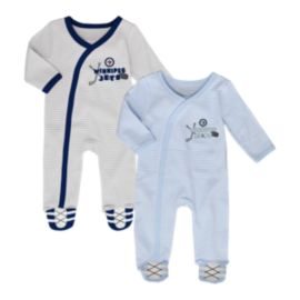 Winnipeg Jets Infant Sunday Best Coverall Set - 2-Piece