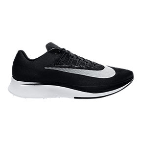 Nike Men's Zoom Fly Running Shoes - Black/White