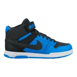 Nike Kids' Mogan Mid 2 Grade School Shoes - Blue/Black