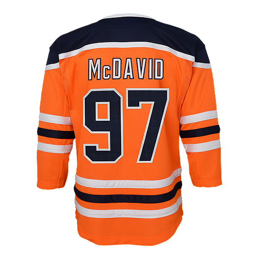 buy online 04978 5225a Edmonton Oilers Toddler Connor McDavid Home Hockey Jersey