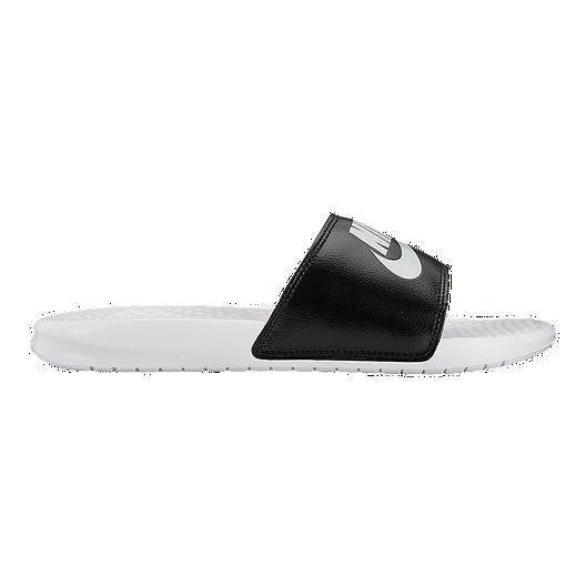 4fe9f14f9397 Nike Men s Benassi JDI Slides - White Platinum Black