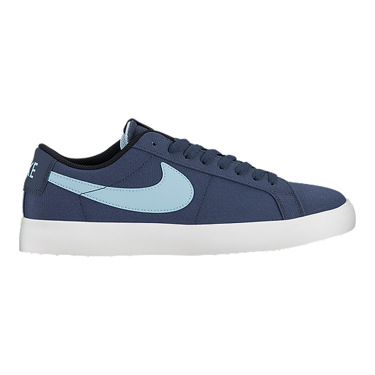 1a1190a285840e Nike SB Men s Blazer Vapor Low Skate Shoes - Blue