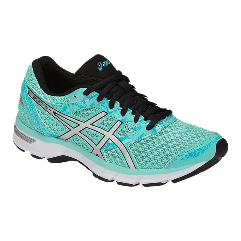f22f7a63a ASICS Women s Gel Excite 4 Running Shoes - Blue Silver Aqua