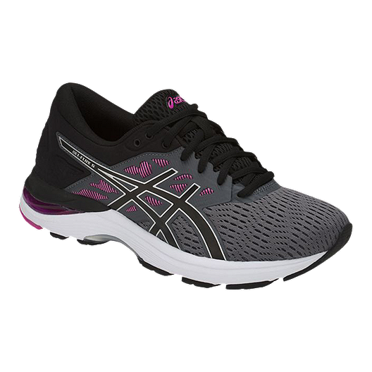 purchase original attractive price available ASICS Women's Gel Flux Running Shoes - Grey/Black/Purple
