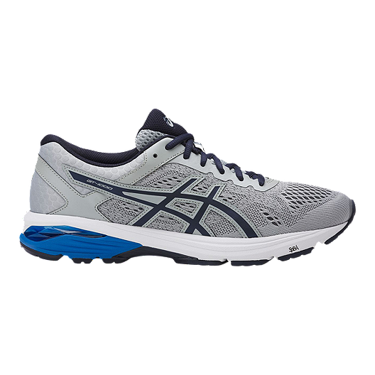 f907b9d93e ASICS Men's GT 1000 6 Running Shoes - Grey/Blue | Sport Chek