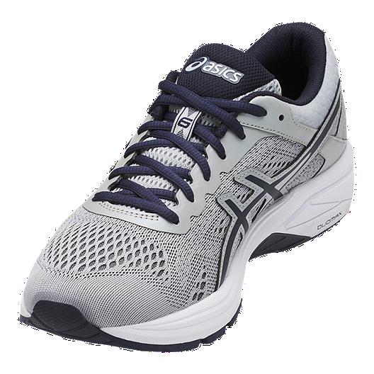 newest b94b5 1637a ASICS Men's GT 1000 6 Running Shoes - Grey/Blue